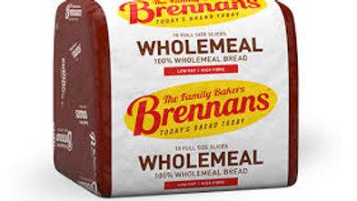 BRENNANS WHOLEMEAL HALF PAN 400G
