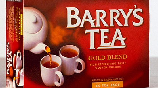 BARRY'S GOLD TEABAGS 80S +25% EXT FILL