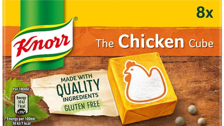 KNORR CHICKEN STOCK CUBES 6S