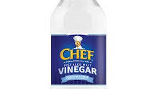 CHEF VINEGAR DISTILLED CLEAR 284ML