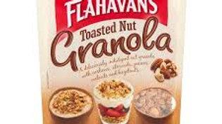 FLAHAVANS GRANOLA NUT