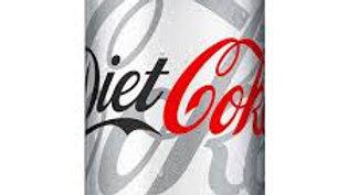 CAN DIET COKE 330ML
