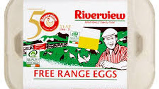 RIVERVIEW FREE RANGE MED EGG 6'S