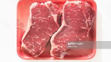 Meadowbrook Farm 2pk Striploin steak 330g