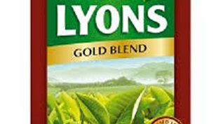 LYONS GOLD BLEND TEA BAGS 80S 250G