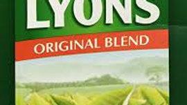 LYONS GREEN LABEL TEA BAGS 80'