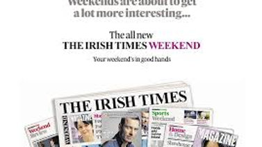 IRISH TIMES WEEKEND
