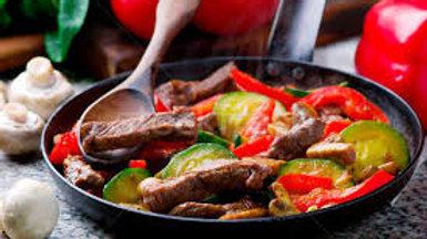 Meadowbrook Farm beef stir fry 1lb
