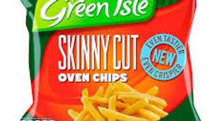 GREEN ISLE SKINNY CUT CHIPS 800G
