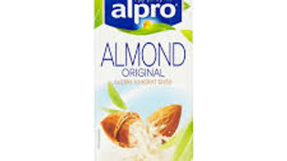 ALPRO ALMOND UNSWEETENED DRINK 1LTR