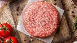 Meadowbrook Farm 4pk Lb Premium beef burgers 454g