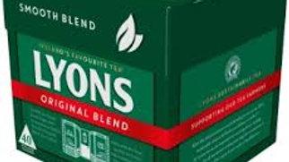 LYONS ORIGINAL GREEN LABEL TEA BAGS 40S