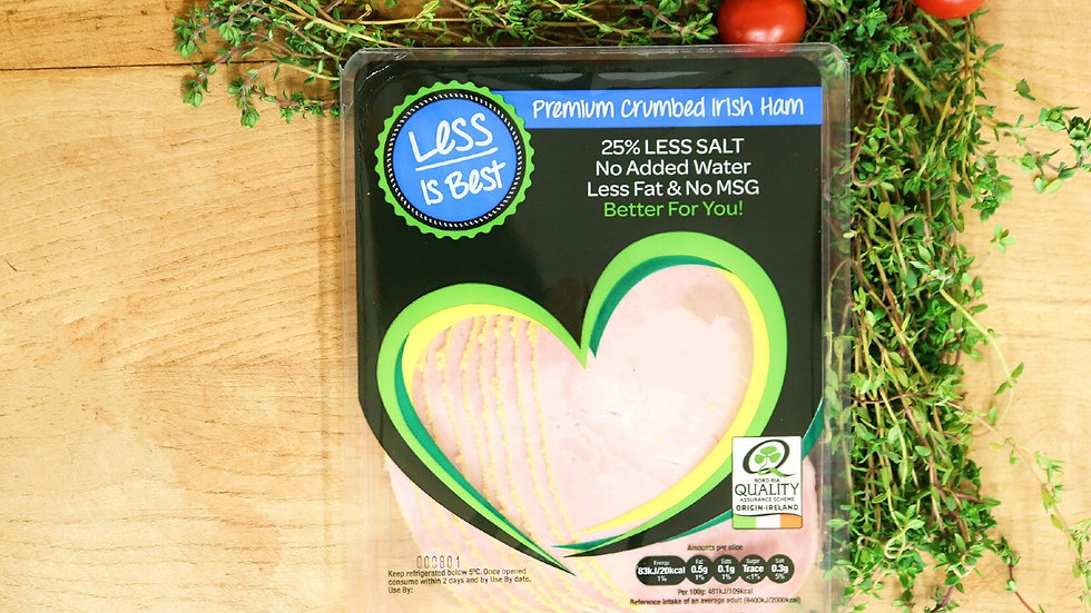 LESS IS BEST 180G CRUMBED HAM