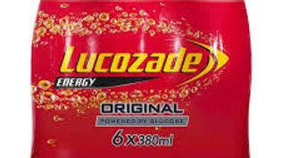 LUCOZADE 6PK 380ML