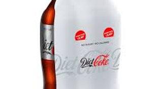 DIET COKE 2X2LTR 4L