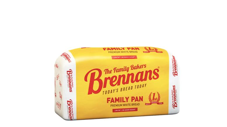 Brennans White Sliced Pan (800 Grams)