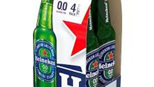 Heineken 0.0% Bottle 4pk