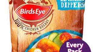 BIRDS EYE 33 CHICKEN DIPPERS 605G