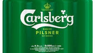 Carlsberg Can 8pk