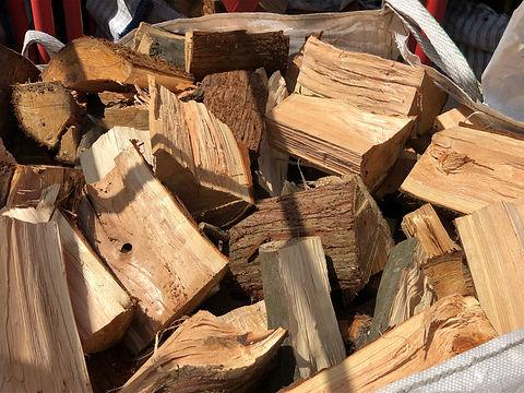close up split logs.JPG