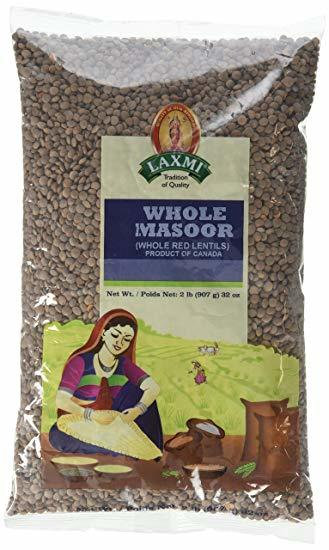 LAXMI WHOLE MASOOR 4 LB