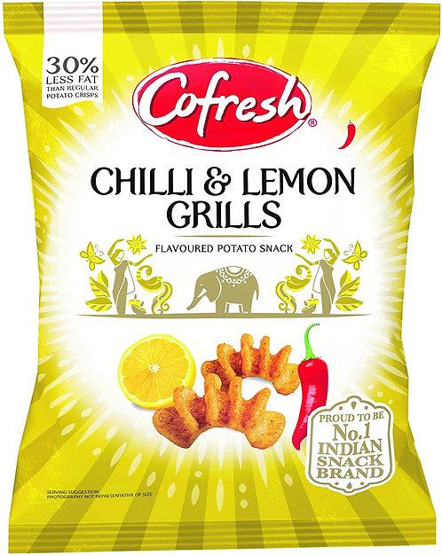 COFRESH CHILLI & LEMON POT GRILLS 12X80 GM