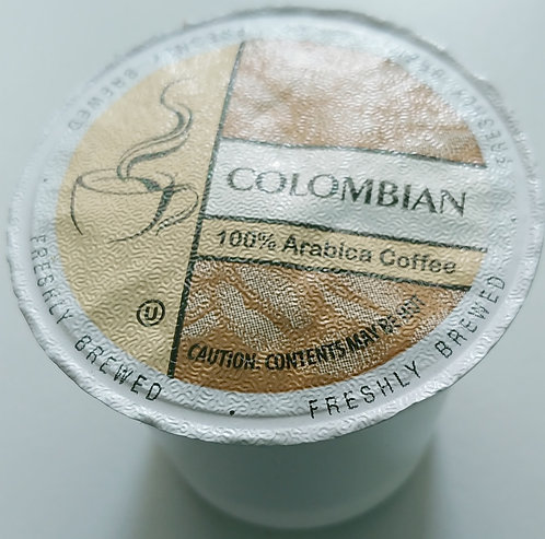 BC COLOMBIAN COFFEE CUPS 9.5GM