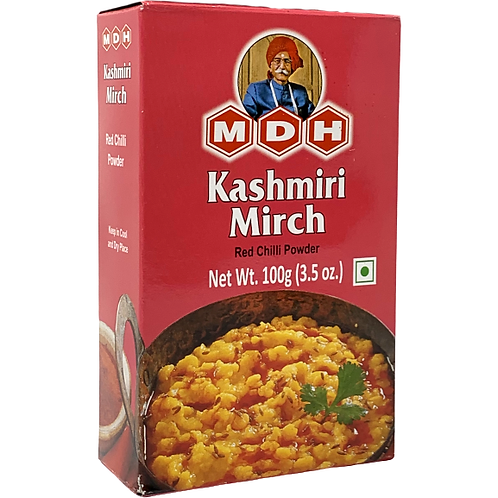 MDH KASHMIRI MIRCH POWDER 10X100 GM IN