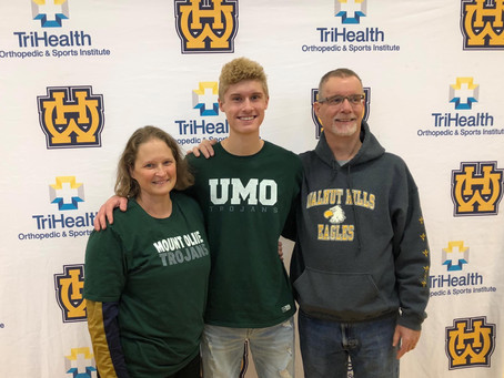 Dominic Hagerty's signing day!
