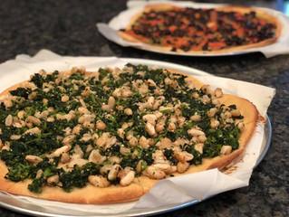 Broccoli Rabe & White Bean pizza