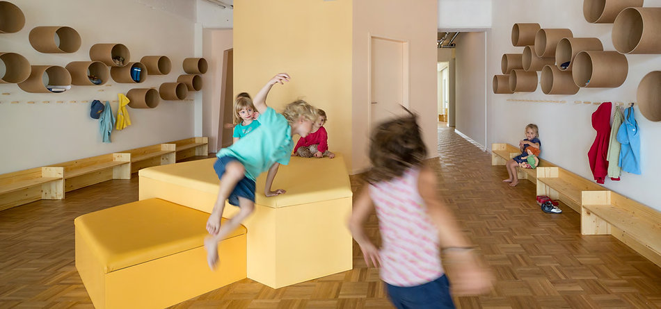 Kuschelhöhle kindergarten  loftschloss | DIE RÄUME