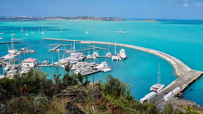 View from Marigot, Saint Martin