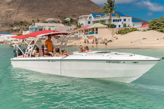 Cruising in Grand Case, Saint Martin