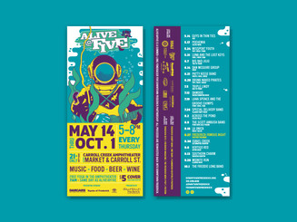 Alive @ Five — Presented by Downtown Frederick Partnership