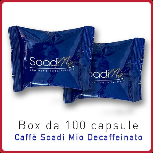 100 Capsule Soadi Mio Decaffeinato
