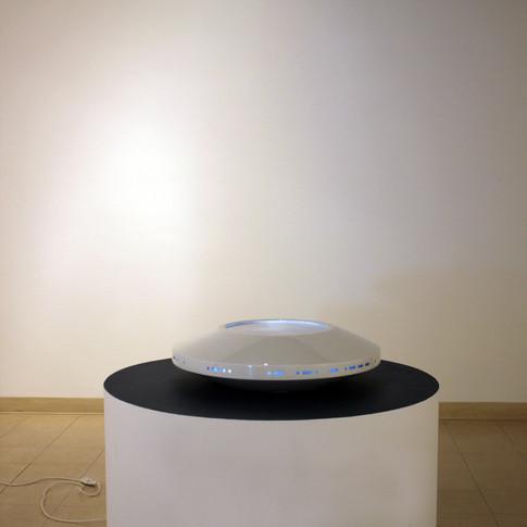 """Vue de l'exposition """"Confidences"""", Galerie L'oeuvre de l'autre, Chicoutimi, septembre 2018"""
