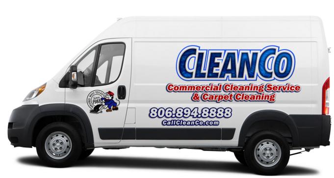 CleanCo Van