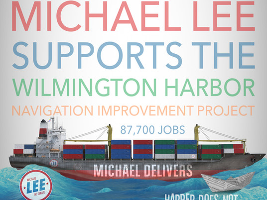 Michael Supports the Port of Wilmington