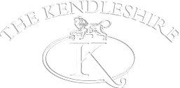 Kendleshire Logo WHITE Droop .png