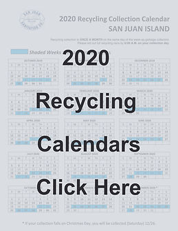 Recycling Calendars Link