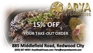 Arya Restaurant 15% Off.jpg