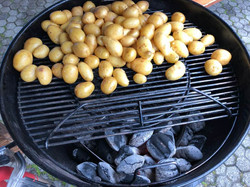 Kartoffeln vom Grill