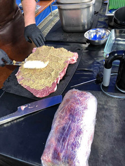 Fleisch vorbereiten