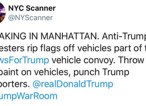 Leftists attacking pro-Trump Jews in NYC?