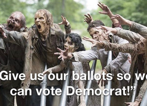 The dead are requesting mail-in ballots in Illinois