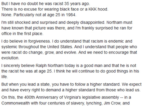 A blast from the past with Virginia Delegate Mark Levine (author of HB961)