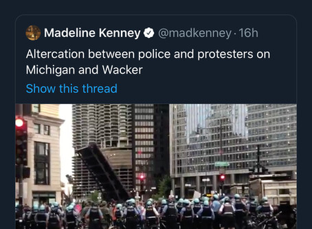 MFOL youth activist mad that cops won't let protestors destroy and harass