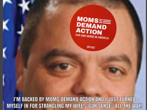 "NY State Senator and Everytown ""Gun Sense"" candidate strangled his wife"