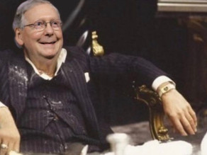 """""""Cocaine"""" Mitch has been busy today (11/12/20)"""