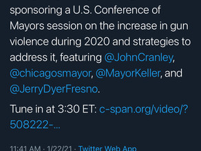 """Chicago mayor Lightfoot invited to Everytown panel on """"2020 violence"""", but one big problem....."""